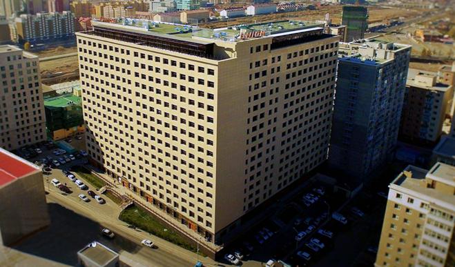 Union building Ulaanbaatar