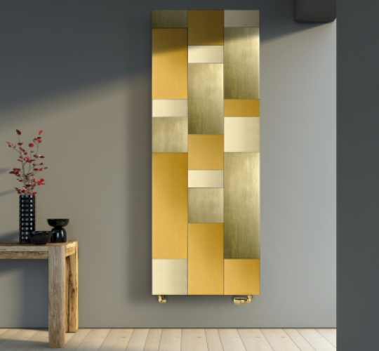 Margaroli Home Radiator: Riflessi Gold
