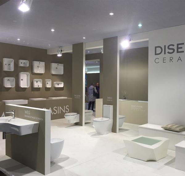 Disegno Ceramica slim wash basins